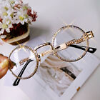Luxury Steampunk Round Rhinestone Sunglasses Women Fashion Shades 2019-US STOCK