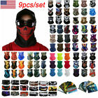 Kyпить 9pcs/set FACE Sun Shield Balaclava Bandana Scarf Skull Hair Headband Cycling USA на еВаy.соm