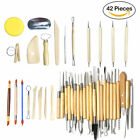 18/30/40/42pcs Clay Sculpting Set Carving Pottery Tools Shapers Modeling Ceramic image