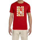 Kansas City Chiefs Travis Kelce Text Pic T-shirt $9.99 USD on eBay