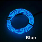 1-5M LED Car Interior Atmosphere EL Wire Neon String Strip Lights Rope Tube Lamp