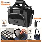 Large Insulated Lunch Bag Soft Cooler For Men Women Reusable Lunch Tote Box New