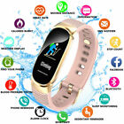 Fitness Smart Watch Activity Tracker Women Lady For Android iOS Heart Rate Gifts