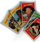 1959 Topps Baseball - Pick A Card - Free Shipping - VG+ - Buy 3 Get 1 Free 1-299 on Ebay