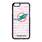 MIAMI DOLPHINS PHONE CASE COVER FOR IPHONE XS MAX XR X 4 S 5 5C 6 7 8 PLUS $14.99 USD on eBay