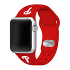 Philadelphia Phillies Silicone Sport Band Compatible With The Apple Watch on Ebay