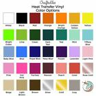Craftables Heat Transfer Vinyl sheet Iron on HTV for Cricut, Silhouette 12