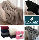 Sherpa Throw Blanket Fuzzy Fleece Plush Soft Warm Couch Faux Fur Bed Blanket image