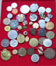 SMALL GROUP / COLLECTION / LOT JETONS MEDALS WORLD, 42 pc, 365 g  #xxD 13