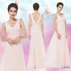 US Pink Long Wedding Evening Formal Party Ball Gown Prom Bridesmaid Dress 08110 $34.39 USD on eBay
