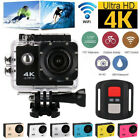 Full HD Action Camera Sport Camcorder Waterproof DVR 1080P/4K WiFi Remote Go Pro