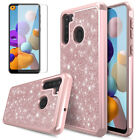 For Samsung Galaxy A10e/A20/A50 Phone Case Cover+Tempered Glass Screen Protector