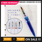 Kyпить Moonman M2 Transparent Clear Eyedropper Fountain Pen Fine Nib 0.5mm Writting Pen на еВаy.соm