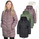 Trespass Rianna Womens Padded Jacket Puffer Coat With Hood For Ladies