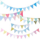 2.5m Bunting Wedding Babyshower Birthday Party Flag Garland Partyware $7.55 USD on eBay