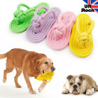 Dog Cat Teething Braided Slipper Rope Toys Pet Small Puppy Chew Molar Play Gums