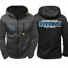 2019 Tennessee Titans Fan's Hoodie Sporty Jacket Sweater Zipper Coat Autumn Tops $23.99 USD on eBay
