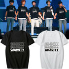 KPOP DAY6 WORLD TOUR GRAVITY Concert T-Shirt Casual Unisex Crew Neck Tee Tops image