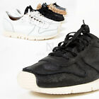 NewStylish Mens Fashion Contrast cracked leather sneakers