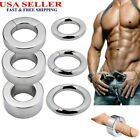 Stainless Steel Ball Stretcher Strong MagneticWeight Men Enhancer Chastity Ring $16.15 USD on eBay