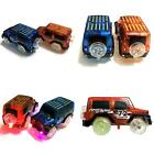 New LED Light Electric Mini Car Truck Magic Track Kids Toy Christmas Gift Dear