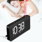 Dimmable LED Digital Display Projection Alarm Clock with AM/FM Radio Function