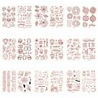 Halloween Christmas Transparent Clear Silicone Stamp/Seals for DIY Scrapbooking