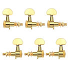 6Pcs 3R3L Auto Locking Tuners Guitar Tuning Pegs Black Gold Siliver for Guitar
