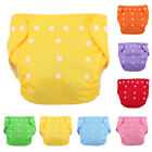 Reusable Infant Diapers Grid Soft Covers Washable Size Adjustable #S5 image