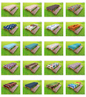 Outdoor Tablecloth Washable Rectangular Picnic Table Cloth by Ambesonne 3 Sizes