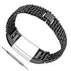 FOR Fitbit CHARGE 2-HR Replacement Stainless Steel Strap Wristband Bracelet Hot