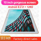 KT107 10.1 Inch 4G Tablet Android 8.0 Bluetooth PC 8+128GB Dual SIM W/ GPS Gold