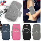 For Cell Phone Sport Armband Running Jogging Gym Arm Band Pouch Holder Bag Case image