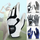 Men Golf Glove One Left Microfiber Cloth Outdoor Sports Ridding Breathable S M L