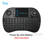 7 color backlit i8 Mini Wireless Keyboard 2.4ghz Air Mouse with Touchpad