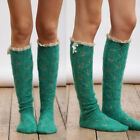 Women Girl Long Sexy Over The Knee Socks Thigh High Soft Knitted Stockings New