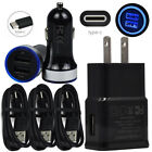 Wall Car Charger For Sony Xperia 10 Plus Xperia XZs XZ3 XA1 1 Fast Type C Cable