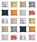 """Throw Pillow Decorative Cover Cushion Case with Zipper 16"""" 18"""" 20"""" 24"""" Sizes"""