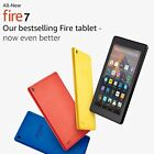 "All New Kindle Fire 7 Tablet ALEXA 7"" Display 8 GB-7th GEN-Black/Blue/Red/Yellow"