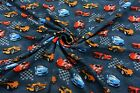 Colourful Children's Patterned Cotton 4 Way Stretch Knit JERSEY Dress Fabric #2