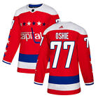 Washington Capitals #77 T.J. Oshie  Alternate Authentic Sewn Jersey Sizes S-3XL $85.0 USD on eBay