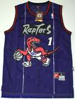 Throwback Hardwood Jersey TRACY McGRADY 1 Toronto Raptors Purple Men NWT