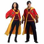 Adult Harry Potter Gryffindor Quidditch Halloween Costume Robe Sweater Goggles