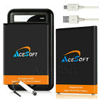 AceSoft LG V10 BL-45B1F 4420mAh Replacement Battery w/ Desktop Charger USB Cable