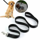 5FT Service Dog Rope Leash Lead Training Padded Handle Reflective Nylon Puppy L