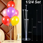 1/2/4set Clear Balloon Column Upright Balloons Display Stand Wedding Party Decor