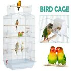 "41"" Open Top Cockatiel Conure Parakeet Budgie Lovebirds Parrot Flight Bird Cage"