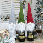 Home Claus Wine Bottle Cover Snowman Stocking Gift Christmas Decorations