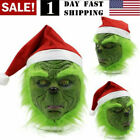 Kyпить US! The Grinch Cosplay Mask Costume Christmas Prop Helmet How the Grinch Stole на еВаy.соm