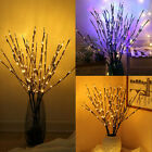 20  Led Twig Branch String Fairy Lights For Home Bathroom Living Room Xmas Decor
